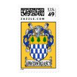 Prendergast Coat of Arms Postage Stamps
