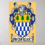 Prendergast Coat of Arms Print