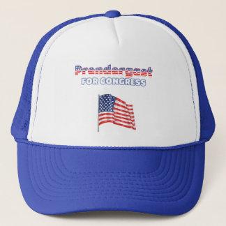Prendergast for Congress Patriotic American Flag Trucker Hat
