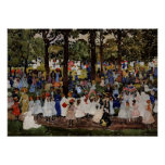 Prendergast - May Day, Central Park Posters