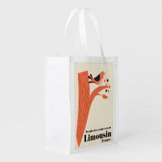 Prendre des vacances pour Limousin France . Grocery Bag