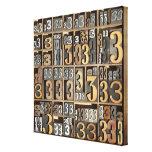 Prensa de copiar 5 lienzo envuelto para galerias