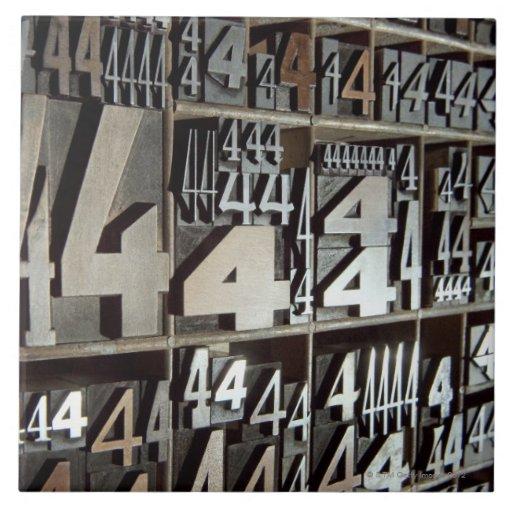 Prensa de copiar azulejo cuadrado grande