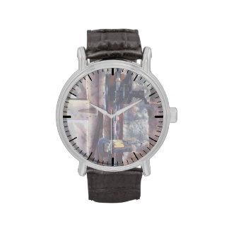 Prensa de taladro del vintage relojes de pulsera