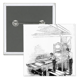Prensa-impresión Pin Cuadrada 5 Cm