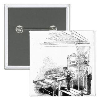 Prensa-impresión Pin Cuadrado