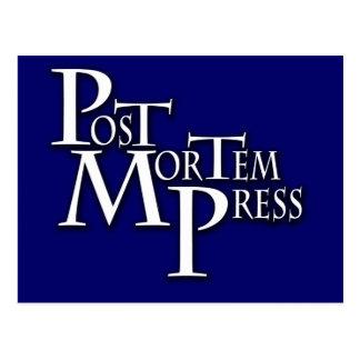Prensa post mortem Notecard Tarjeta Postal
