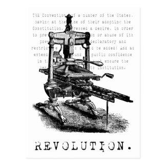 ¡Prensa = REVOLUCIÓN! Tarjetas Postales