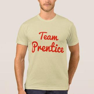 Prentice del equipo camiseta