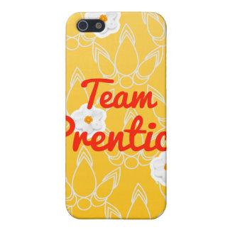 Prentice del equipo iPhone 5 fundas