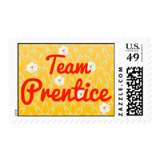 Prentice del equipo sello