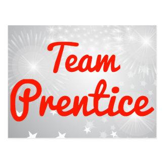 Prentice del equipo postal