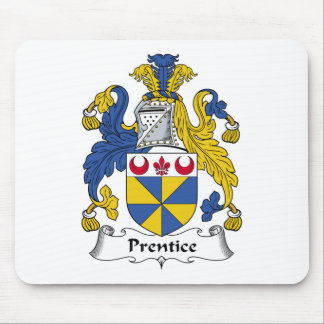 Prentice Family Crest Mouse Pad