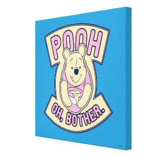 Preocupación de Winnie the Pooh el | bah oh Impresión En Lienzo Estirada