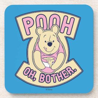 Preocupación de Winnie the Pooh el | bah oh Posavasos De Bebida