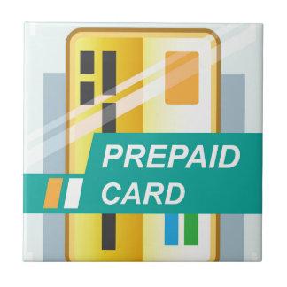 Prepaid Card Ceramic Tile