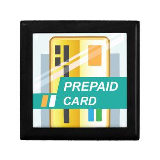 Prepaid Card Jewelry Box