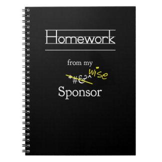 Preparación de mi diario del patrocinador