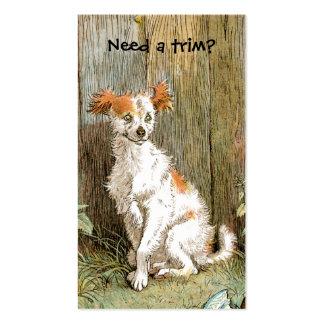 Preparación del mascota o tarjeta de visita del ba