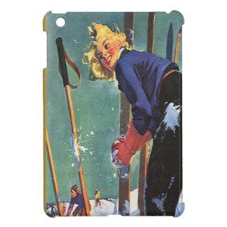 Preparación esquiar iPad mini protector