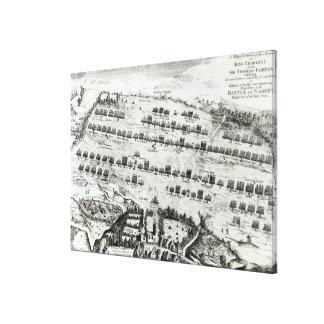 Preparación para la batalla de Naseby Impresión De Lienzo