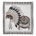 Preparaciones del nativo americano bandanas