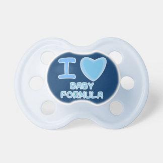 preparado para bebés del corazón del amor del bebé chupetes para bebes