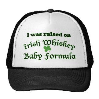 Preparado para bebés irlandés del whisky gorra