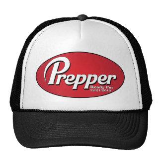 Preparado y aliste gorra