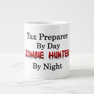 Preparador de impuesto/cazador del zombi taza de café gigante
