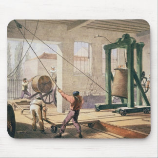 Preparando el cable, 'del Telegraph atlántico Tapete De Ratones