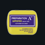 "Preparation A candy: Medical gag gift Jelly Belly Candy Tin<br><div class=""desc"">""Preparation A"