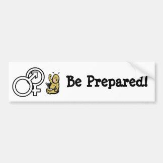 Preparation Bumper Sticker