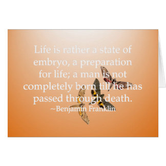 Preparation for Life Card