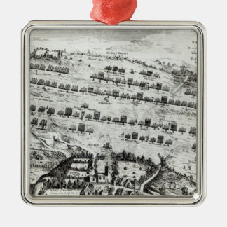 Preparation for the Battle of Naseby Metal Ornament