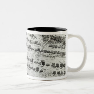 Preparation for the Battle of Naseby Two-Tone Coffee Mug