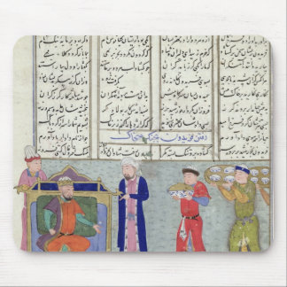 Preparation of the feast ordered by Feridun Mouse Pad