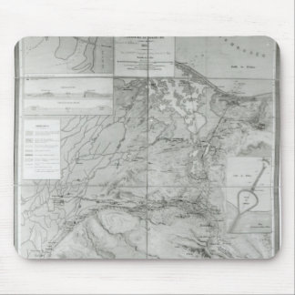 Preparatory Map of the Suez Canal, 1855 Mouse Pad