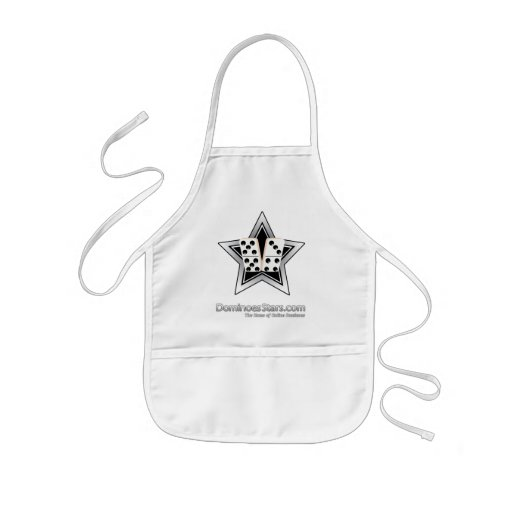 Prepare a Good Game At Dominoes Stars Kids' Apron