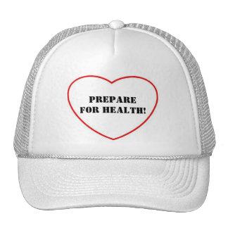 Prepare for Health Mesh Hats