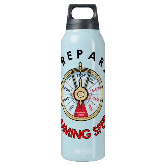 Prepare for Ramming Speed Insulated Water Bottle