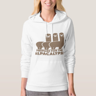 Prepare For The Alpacalypse Hooded Pullovers