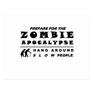 Prepare for the zombie postcard