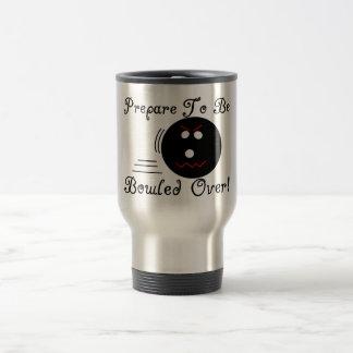 Prepare To Be Bowled Over Travel Mug