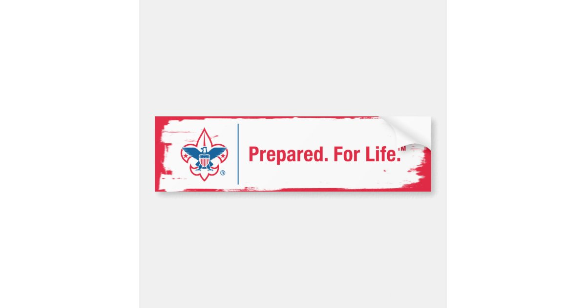 Prepared For Life Bumper Sticker Zazzle Com
