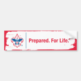 Prepared. For Life Bumper Sticker Car Bumper Sticker