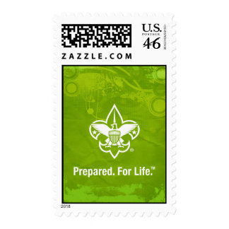 Prepared.For Life Stamp