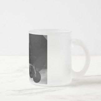 Prepárese para aterrizar taza de café esmerilada