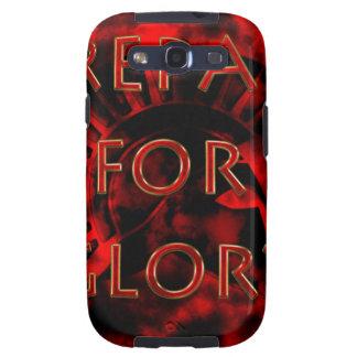Prepárese para el guerrero Gloria-Espartano Galaxy S3 Fundas
