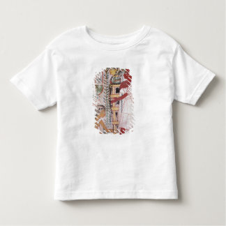 Preparing a mummy for a purification ceremony tee shirt